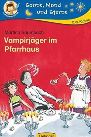 Vampirjäger im Pfarrhaus von Martina Baumbach